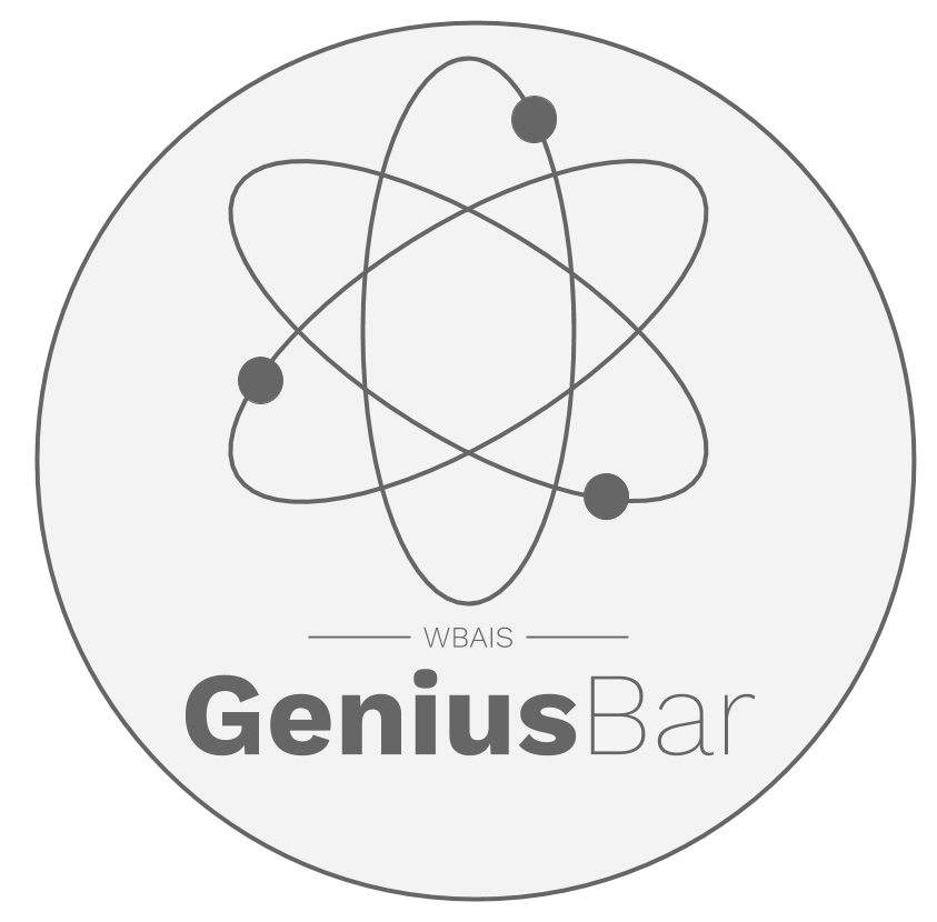 The WBAIS Genius Bar Wants to Help You